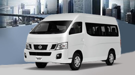 Nissan Urvan day trips and transfers - Clark - Subic - Manila