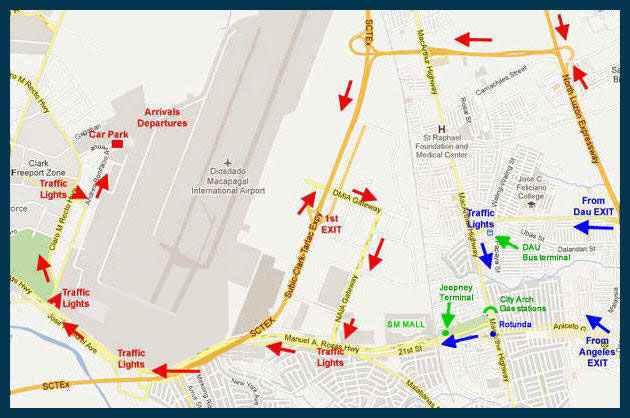 CLARK INTERNATIONAL AIRPORT Directions to CRK Airport. Official live on